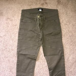 Army green jeans from urban outfitters